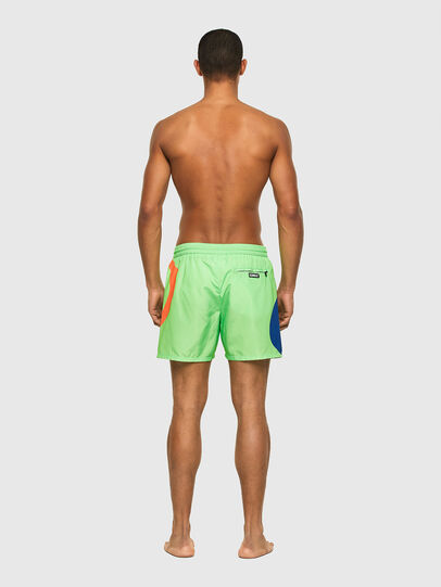 Diesel - BMBX-WAVE 2.017, Green - Swim shorts - Image 2