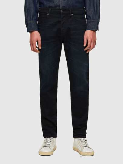 Diesel - D-Fining-Chino 084AY, Blu Scuro - Jeans - Image 1
