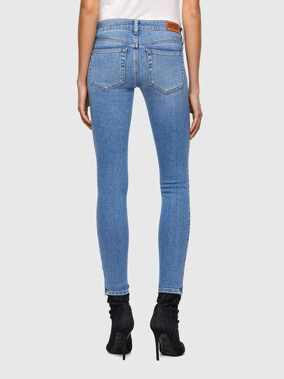 Diesel - Slandy Low 009ZY, Blu Chiaro - Jeans - Image 2