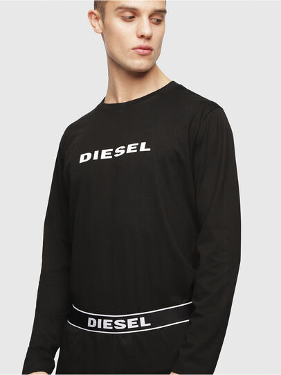 Diesel - UMSET-JUSTIN-JULIO, Schwarz - Pyjamas - Image 3