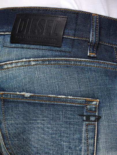 Diesel - D-Strukt 0092I, Blu Scuro - Jeans - Image 4