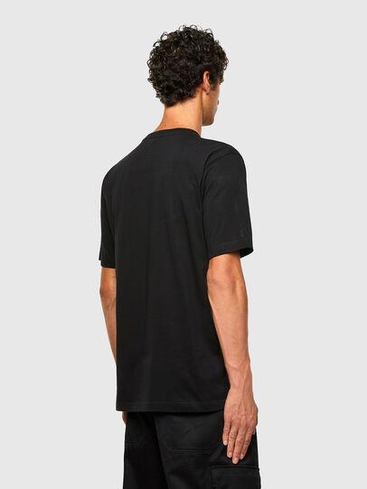 Diesel - T-TUBOLAR-N2, Noir - T-Shirts - Image 2
