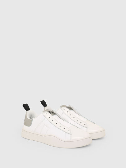 Diesel - S-CLEVER SO W, Bianco/Argento - Sneakers - Image 2