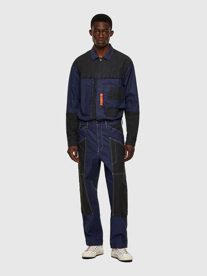 Diesel - D-Franky JoggJeans® 0EEAW, Bleu Foncé - Jeans - Image 5