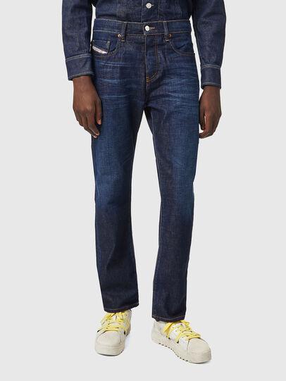 Diesel - D-Viker 09A12, Bleu Foncé - Jeans - Image 1