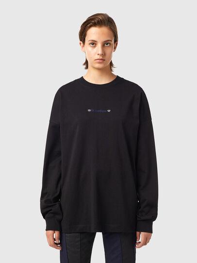 Diesel - T-BLONG, Noir - T-Shirts - Image 1