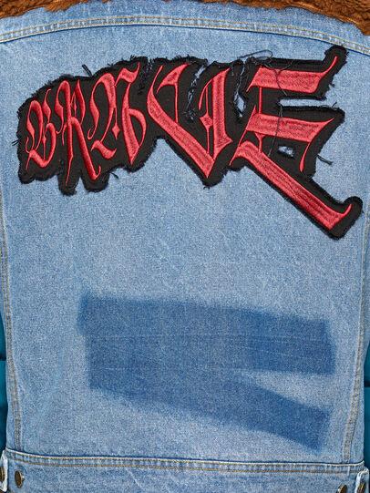 Diesel - W-HEROESY, Bleu/Marron - Vestes d'hiver - Image 6