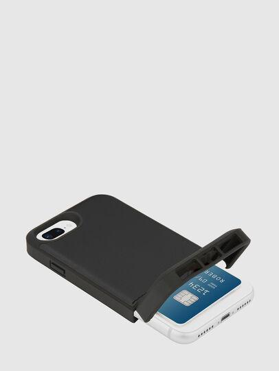 Diesel - CREDIT CARD IPHONE 8 PLUS/7 PLUS/6S PLUS/6 PLUS CASE, Schwarz - Schutzhüllen - Image 2