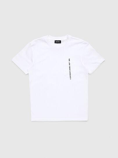 Diesel - TJUSTPOCKETCOPY, Weiß - T-Shirts und Tops - Image 1