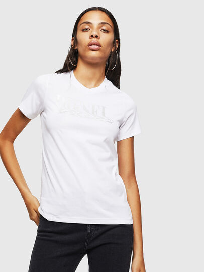 Diesel - T-SILY-WN, Weiß - T-Shirts - Image 1