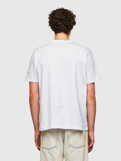 Diesel - T-JUST-B61, Weiß - T-Shirts - Image 3