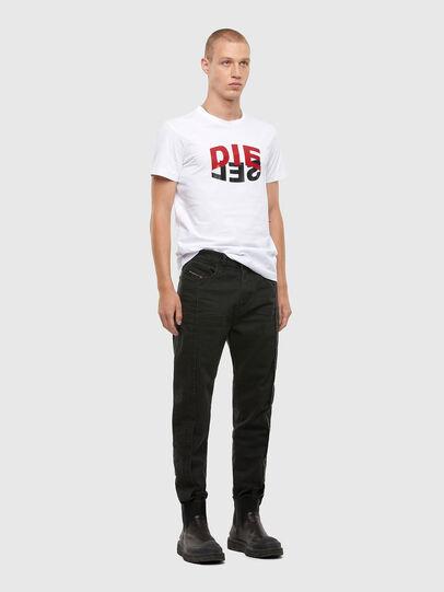 Diesel - T-DIEGOS-N22, Weiß - T-Shirts - Image 4