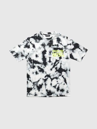 Diesel - TJUSTJ23 OVER, Schwarz - T-Shirts und Tops - Image 1