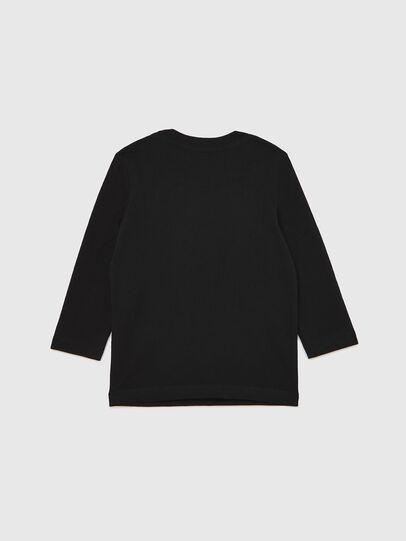 Diesel - TJUSTLOGOB ML-R, Black - T-shirts and Tops - Image 2