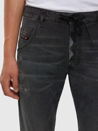 Diesel - KROOLEY JoggJeans® 009LB, Schwarz/Dunkelgrau - Jeans - Image 5