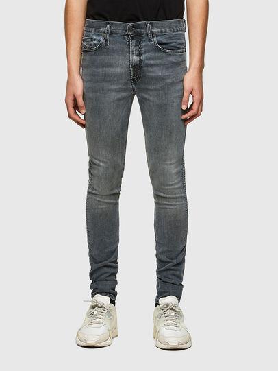Diesel - D-Reeft JoggJeans® 069RD, Schwarz/Dunkelgrau - Jeans - Image 1