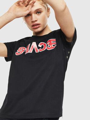 T-SILY-WO, Schwarz - T-Shirts