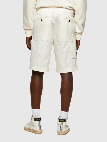Diesel - P-HATY, Blanc - Shorts - Image 2