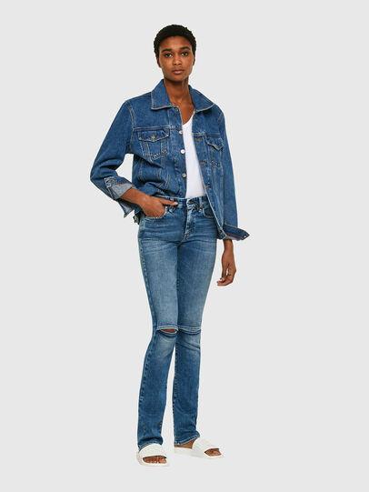 Diesel - Slandy-B 009PT, Blu Chiaro - Jeans - Image 6