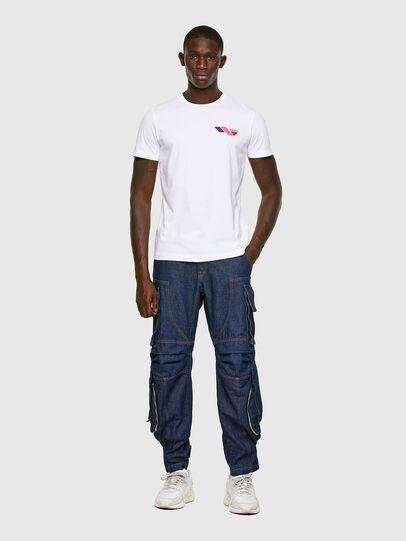 Diesel - T-DIEGOS-K11, Blanc - T-Shirts - Image 5