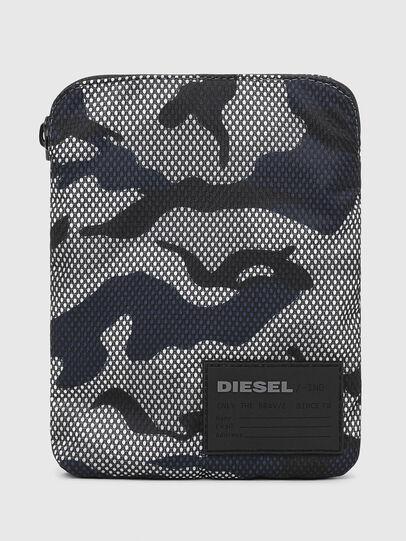 Diesel - F-DISCOVER CROSS, Grau/Blau - Schultertaschen - Image 1