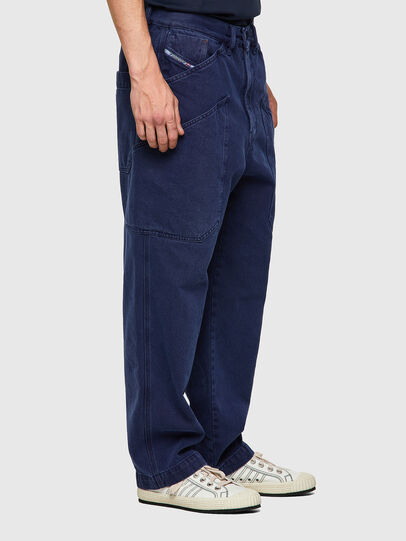 Diesel - D-Franky 0EEAX, Bleu moyen - Jeans - Image 5