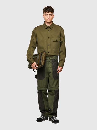 Diesel - D-Multy 0IDAQ, Verde - Jeans - Image 6