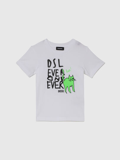 Diesel - TORTUB-R, White - T-shirts and Tops - Image 1