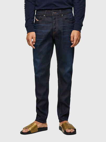 Diesel - D-Fining 09A45, Blu Scuro - Jeans - Image 1