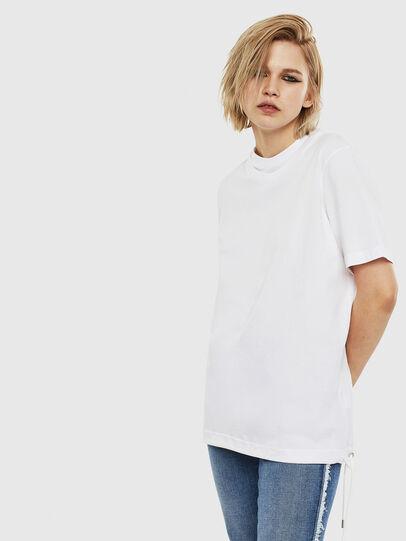 Diesel - T-HUSTY, Weiß - T-Shirts - Image 3