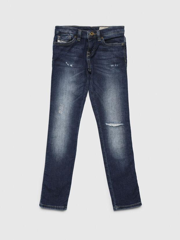 SKINZEE-LOW-J JOGGJEANS-N, Mittelblau - Jeans