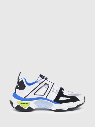 Diesel - S-KIPPER LOW TREK II, Bianco/Nero - Sneakers - Image 1