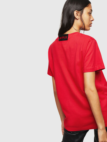 Diesel - LCP-T-DIEGO-LISBOA, Rot - T-Shirts - Image 4