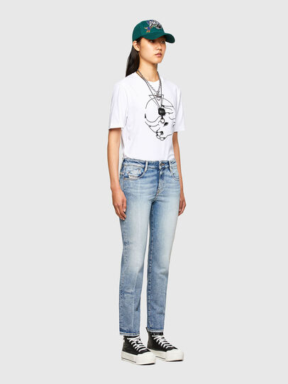 Diesel - CL-T-JUST-O, Bianco - T-Shirts - Image 8