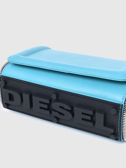 Diesel - YBYS S, Azurblau - Schultertaschen - Image 5