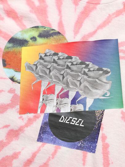 Diesel - TSILYTD, Rose/Blanc - T-shirts et Hauts - Image 3