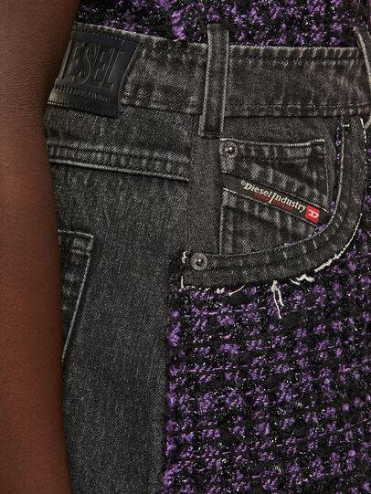 Diesel - D-OLGA, Noir/Violet - Robes - Image 4