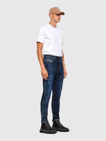 Diesel - D-Vider 0092X, Bleu moyen - Jeans - Image 8