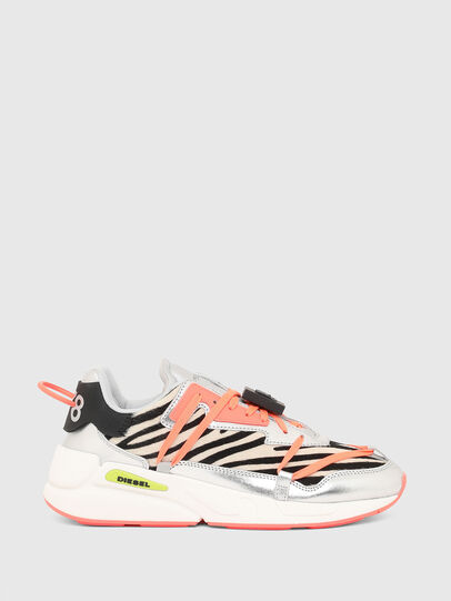 Diesel - S-SERENDIPITY LC EVO, Bianco/Rosa - Sneakers - Image 1