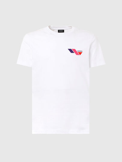 Diesel - T-DIEGOS-K11, Blanc - T-Shirts - Image 4