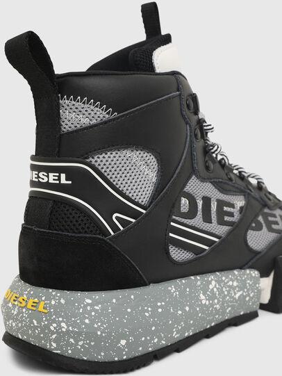 Diesel - S-PADOLA MID TREK, Schwarz/Grau - Sneakers - Image 5
