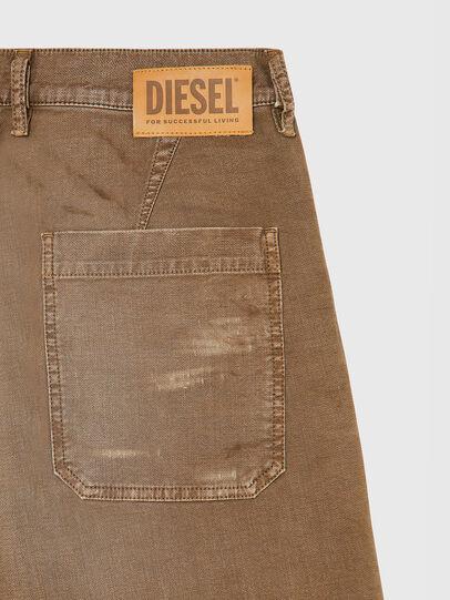 Diesel - D-AZERR-SHORT JOGGJEANS, Braun - Kurze Hosen - Image 4