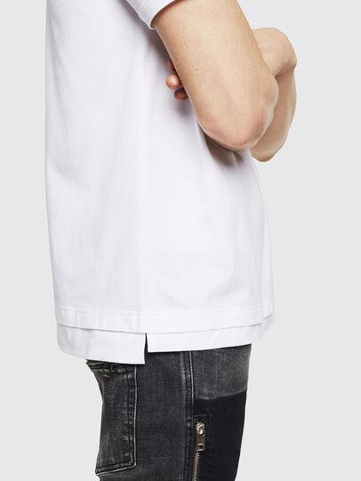 Diesel - T-CHERUBIK-NEW, Weiß - T-Shirts - Image 4