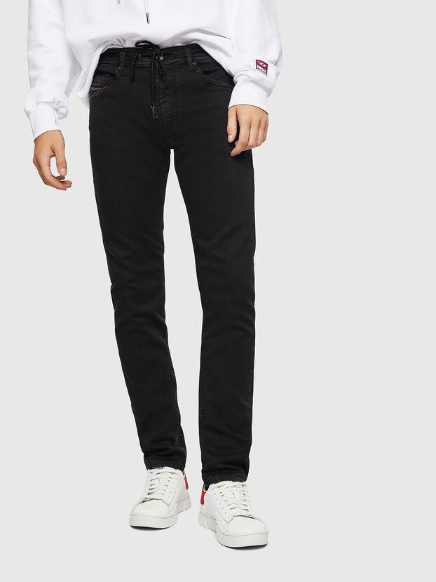 Thommer JoggJeans 0687Z, Schwarz/Dunkelgrau - Jeans