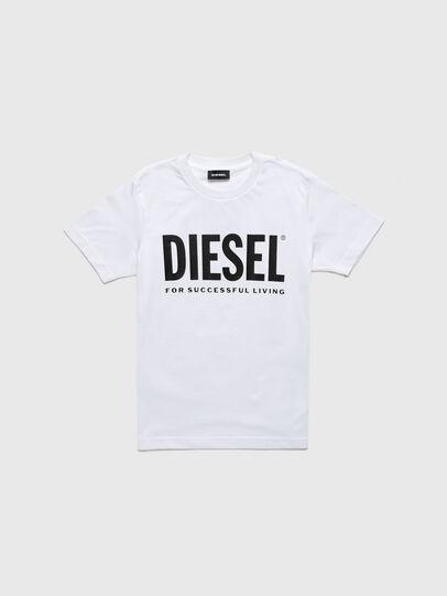 Diesel - TJUSTLOGOB-R, Weiß - T-Shirts und Tops - Image 1