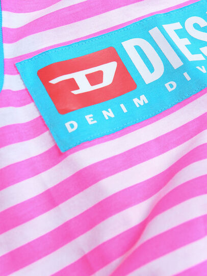 Diesel - DARIETTAB, Rosa/Weiß - Kleider - Image 3