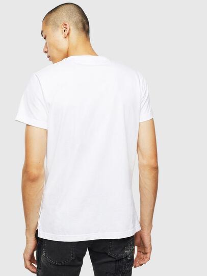 Diesel - T-DIEGO-SLITS-J6, Weiß - T-Shirts - Image 2