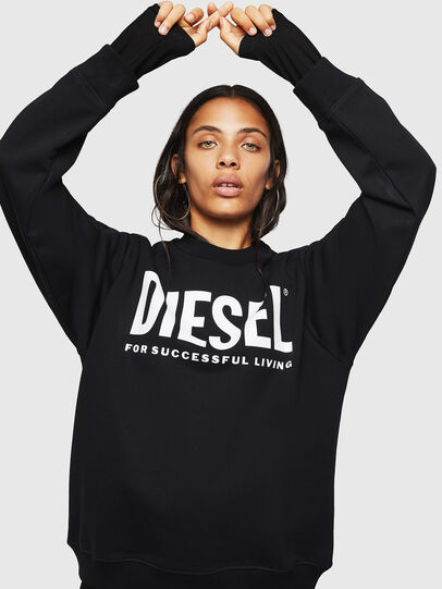 Diesel - F-ANG, Schwarz - Sweatshirts - Image 1