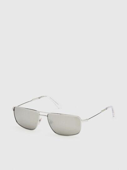 Diesel - DL0308, Weiß - Sonnenbrille - Image 2