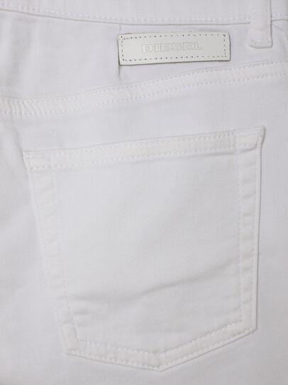 Diesel - PBOYSHORT JOGGJEANS, Bianco - Shorts - Image 4